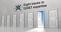 Eight tracks to GD&T expertise