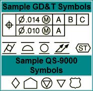 IIGDT GD&T Font