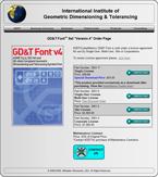 GD&T Font Order Form